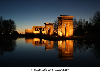 Temple of Debod donated by Egypt to Spain