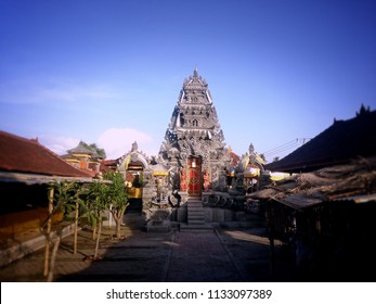 Temple Desa, Temple Puseh, Temple Subak Is Located Into One Area At Ringdikit Village