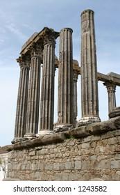 Temple of Diana, Evora, Alentejo, Portugal