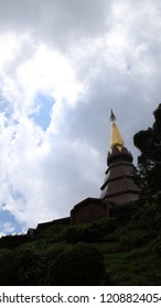 Temple at Doi Inthanon in Thailand
