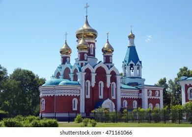 Temple of Elijah the Prophet Dzemgi, Komsomolsk-on-Amur