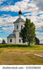 Temple of the Exaltation of the Holy Cross, Stolobny island, Ostashkov district, Tver region, Russia