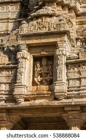 Temple in fort of Chittor. Example of  Indo-Aryan (North-Indian) architecture. Chittorgarh fortress is the largest fort in India & Asia. It's on the UNESCO World Heritage Site list.