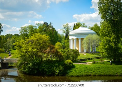 Temple of Friendship in the Park, St. Petersburg