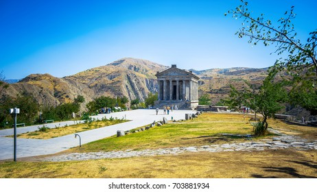 The Temple of Garni is an Ionic temple in Garni, Armenia.UNESCO World heritage site. It is the only standing Greco-Roman colonnaded building in Armenia