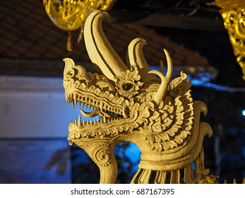 temple with golden Buddha