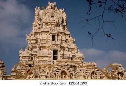 Temple Gopuram at main entrance