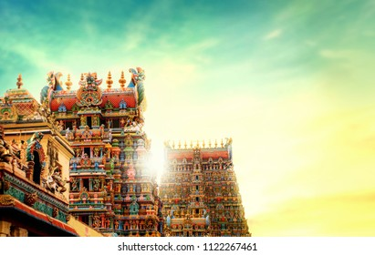 TEMPLE GOPURAM TOWER