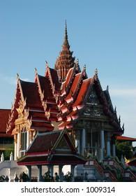 Temple at Hat Yai Thailand