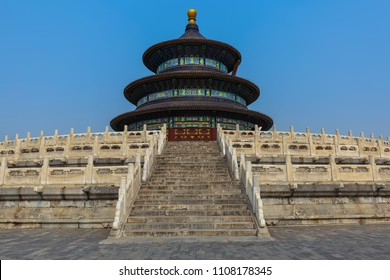 Temple of heaven - Beijing China - architecture background