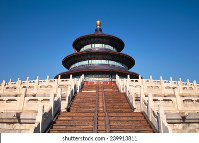 Temple of Heaven with clean sky
