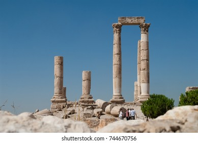 Temple of Hercules in Amman Jordan