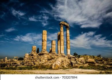 Templo de Hércules - Citadel Amman