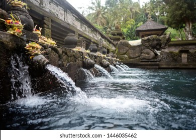 Temple of holy springs in Bali