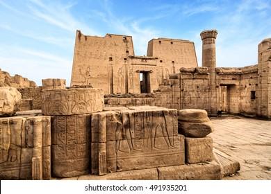 Temple of Horus, Edfu (Idfu, Edfou, Behdet), Egypt