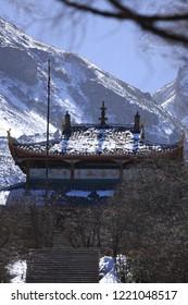 Temple at Huanglong Sichuan China