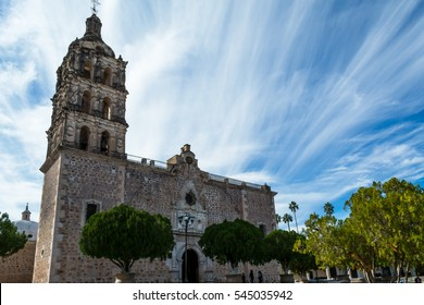 Temple of the Immaculate Conception in Alamos, Sonora, Mexico