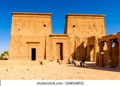 Temple of Isis from Philae (Agilkia Island in Lake Nasser), a part of the UNESCO Nubia Campaign