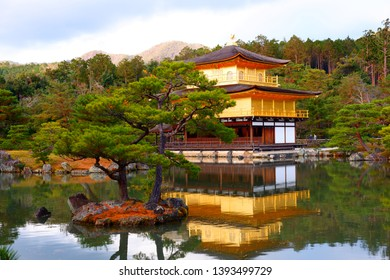 Temple in japan , Gold Temple is beautiful