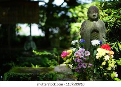 A temple in Kamakura of Japan