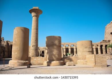Temple of Karnak. Luxor, Egypt Pharaonic monuments (Photographer, Egyptian Antiquities)
