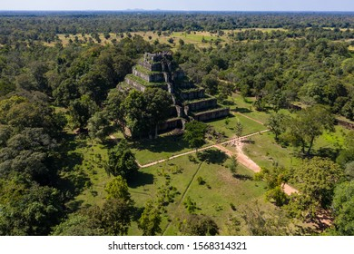 The temple of Koh ker Cambodia - Shutterstock ID 1568314321