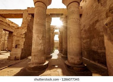 Temple of Kom Ombo dedicated to God Sobek in upper Egypt built in the times of the Ptolemy Dynasty