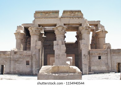 Temple of Kom Ombo  Kom Ombo  The Sanctuary of Sobek  The Wall surrounding  The Sanctuary of Haroeris The Staircase  The Hypostyle hall  Pronaos  The Chapel of Hathor  The Gate of Ptolemy XII Auletes