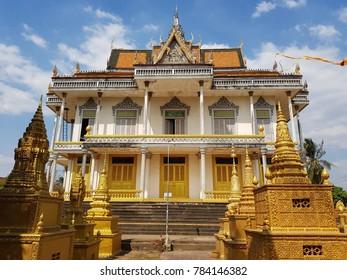 Temple in Kratie  ,Cambodia