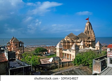 Temple of Lord Shiva in Somnath, Gujarat, one of most famous Jyotirlinga of india.