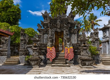 Temple in Lovina - Bali Island Indonesia - travel and architecture background