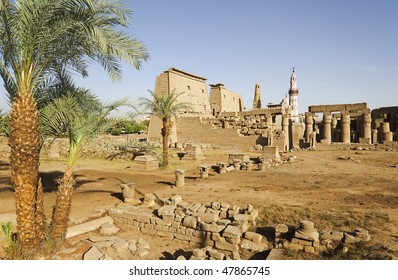 """The temple of """"Luxor"""" in Egypt"""