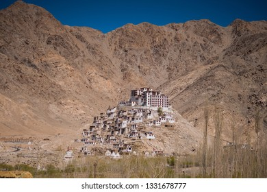 Temple monastery  in Leh-Ladakh, India