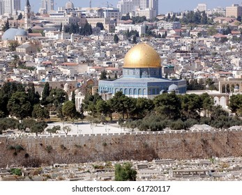 Temple Mount with the Dome of the Rock