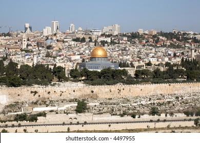 Temple mount, Old Jerusalem