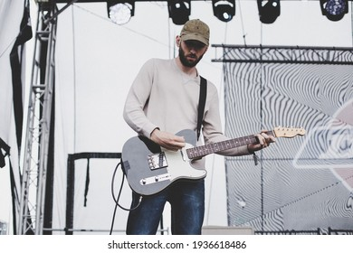 Temple Newsam Park, United Kingdom, 25th may 2019, American rock band tigers jaw perform Live at Slam Dunk Festival Leeds Uk,