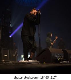 Temple Newsam Park, United Kingdom, 25th may 2019, American post hardcore band Glassjaw  perform Live at Slam Dunk Festival Leeds Uk,