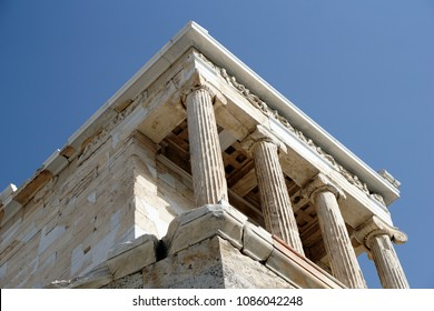 The temple of Nike on the Acropolis, Athens, Greece