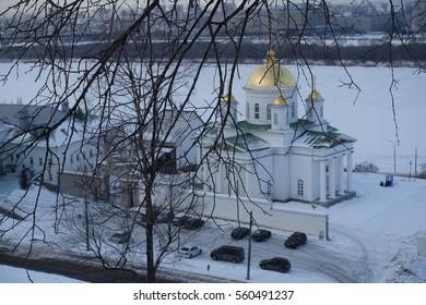 Temple in Nizhny Novgorod