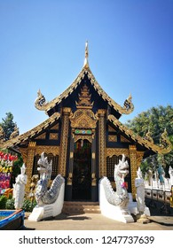 A temple in the northern of Thailand.