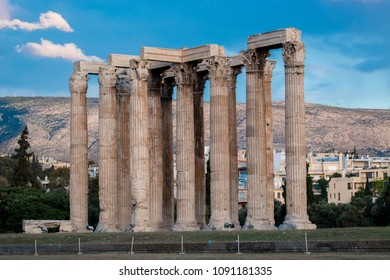 temple of olympian zeus athens capital of greece europe
