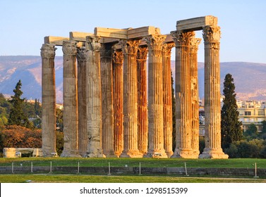 The Temple of Olympian Zeus or the Olympieion or Columns of the Olympian Zeus is a monument of Greece and a former colossal temple at the centre of the Greek capital Athens.