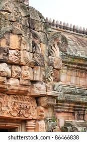 Temple on the Thailand, Cambodia border.