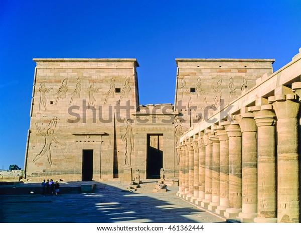 Temple in Philae