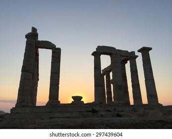 Temple of Poseidon, Sounion GREECE