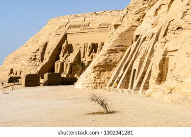 Temple of Ramses and Temple of Nefertari, Abu Simbel, Egypt