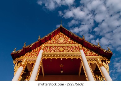 Temple roof,Buddhist art decoration