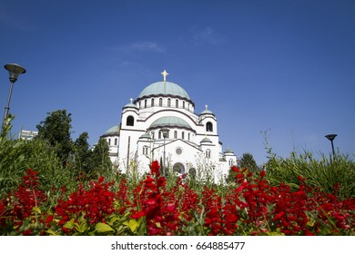 Temple of Saint Sava, Belgrade, Serbia.