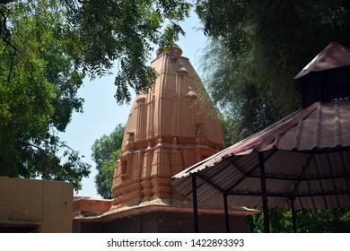 Temple in Sandipani Ashram in Ujjain Madhya Pradesh India