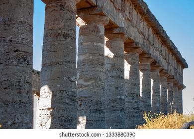 Temple of Segesta in Sicily